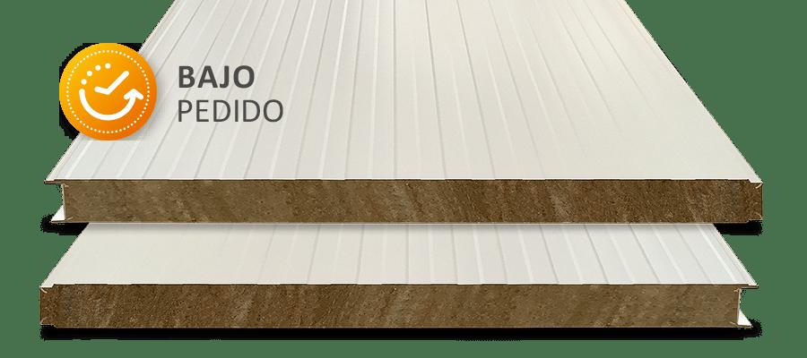 Panel Lana de Roca Fachada 100