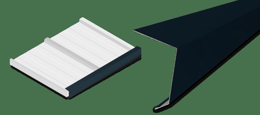 Remate frontal cubierta gris antracita